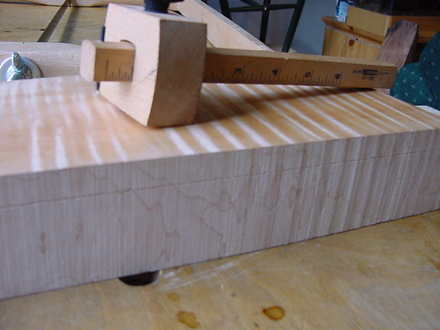 Resawing Section